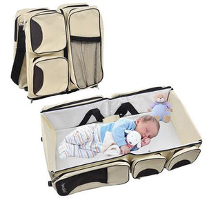 BabyBass™ 3 in 1 Multi Purpose Diaper Bag