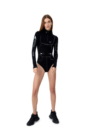 ZIP BODYSUIT