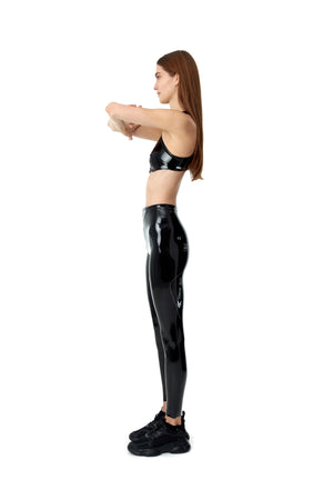 LACQUER LEGGINGS