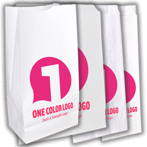 Full-Custom, 1-Color Bags