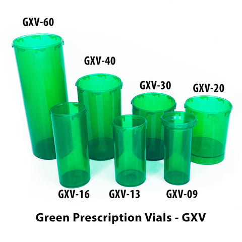 Green Prescription Vials (GXV)