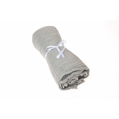 Beba Bean Accessories Grey Coco Blanket