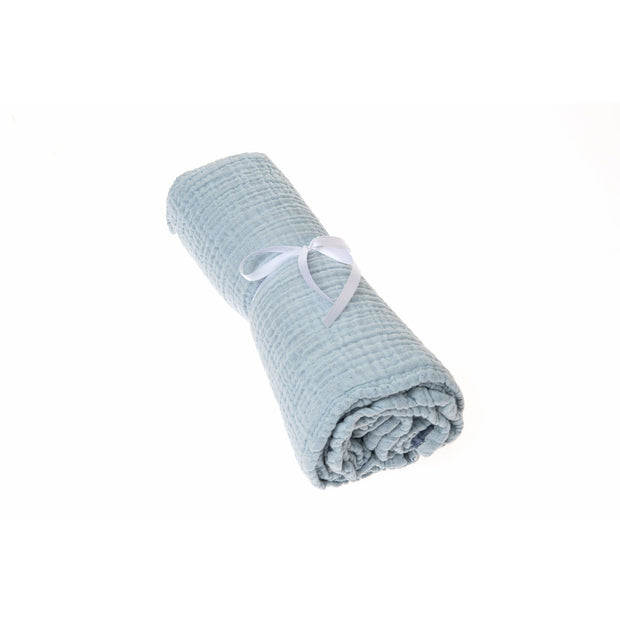 Beba Bean Accessories Blue Coco Blanket