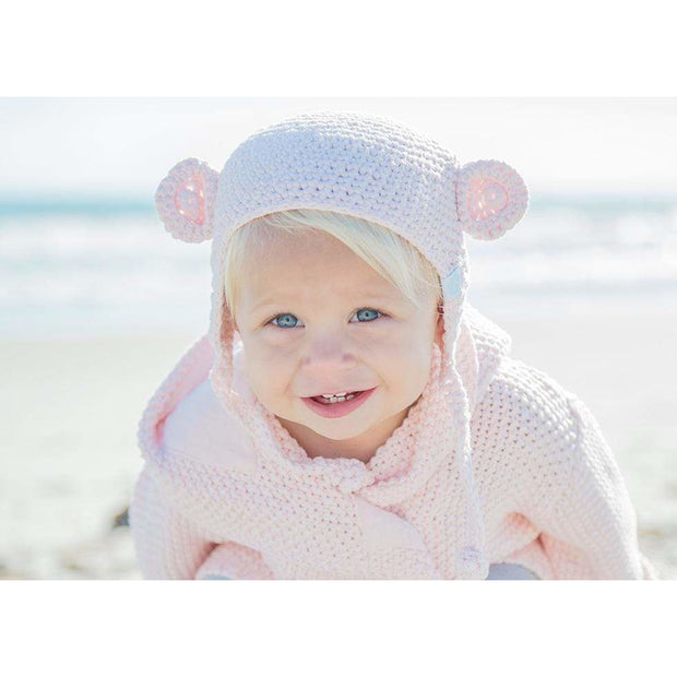 Beba Bean Accessories Crochet Bear Toque