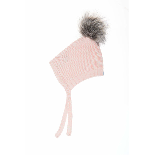 Beba Bean Accessories 3-6 / Pink Pom Pom Hat