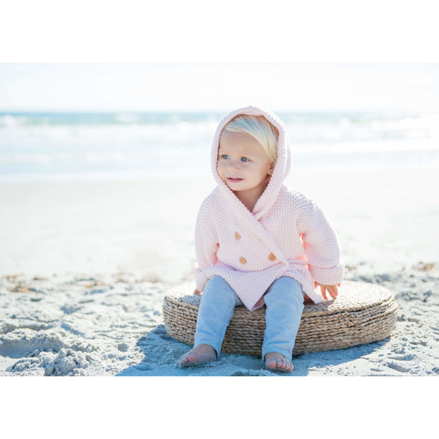 Beba Bean Clothes Crochet Knit Hoodie