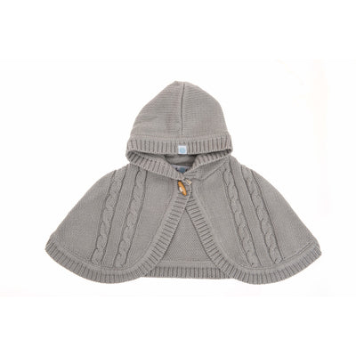 Beba Bean Clothes Grey Knit Cape