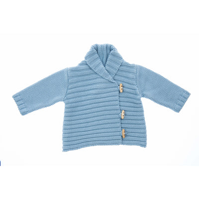 Beba Bean Clothes 3-6 / Blue Whistler Cardigan