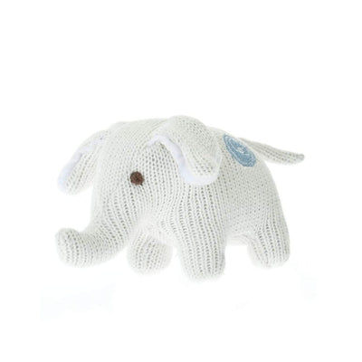 Beba Bean Toys Knit Elephant Rattle