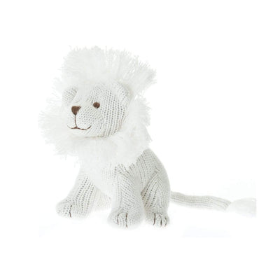 Beba Bean Toys Knit Lion Rattle