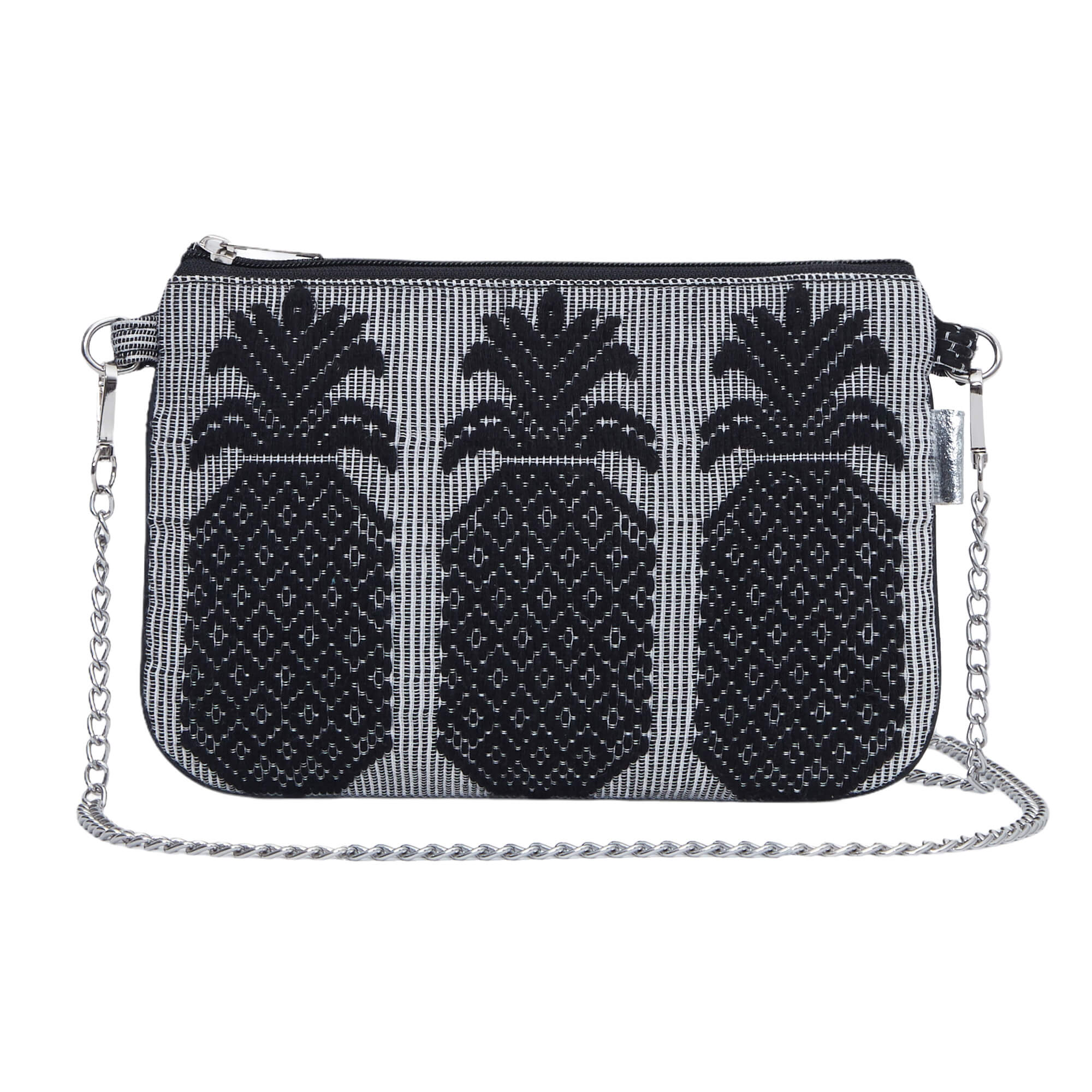 Black Pineapple Sling Bag