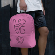Load image into Gallery viewer, LOVE IS LOVE Backpack