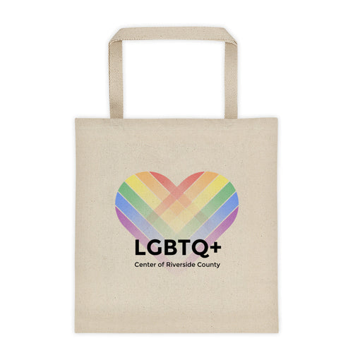 Official LGBTQ+ Center of Riverside County Tote