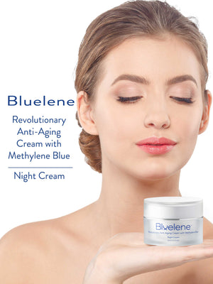 BLUELENE  METHYLENE BLUE NEW REVOLUTIONARY ANTI AGING CREAM - 30 ml