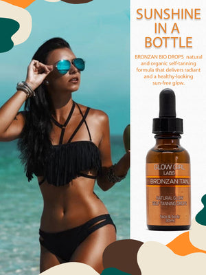 BRONZAN TAN Natural Glow Self Tanning Drops - 30ml