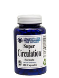 SUPER CIRCULATION - 180 capsules Improves Blood Flow