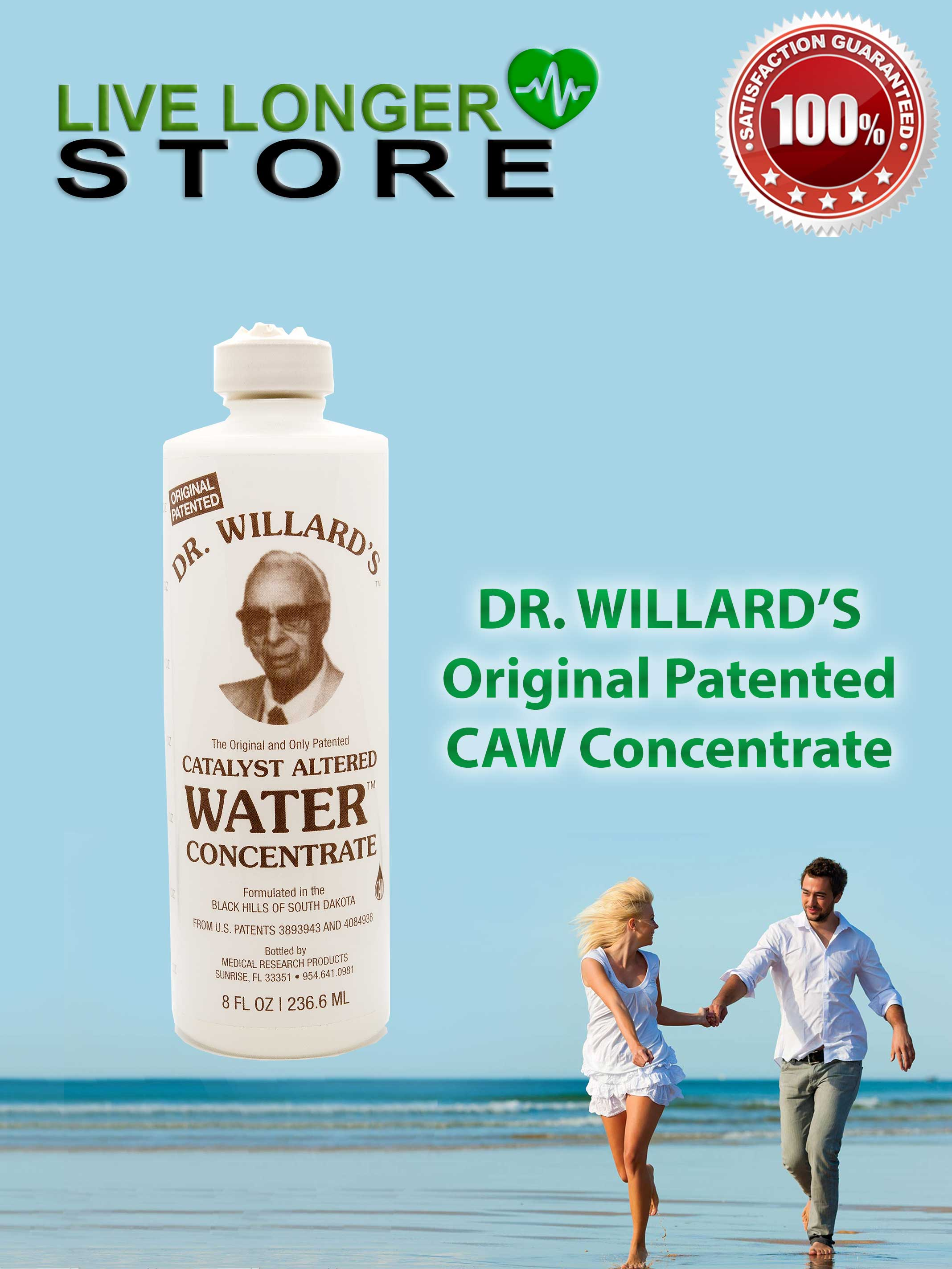 Dr Willard S Catalyst Altered Water Concentrate 8 Fl Oz