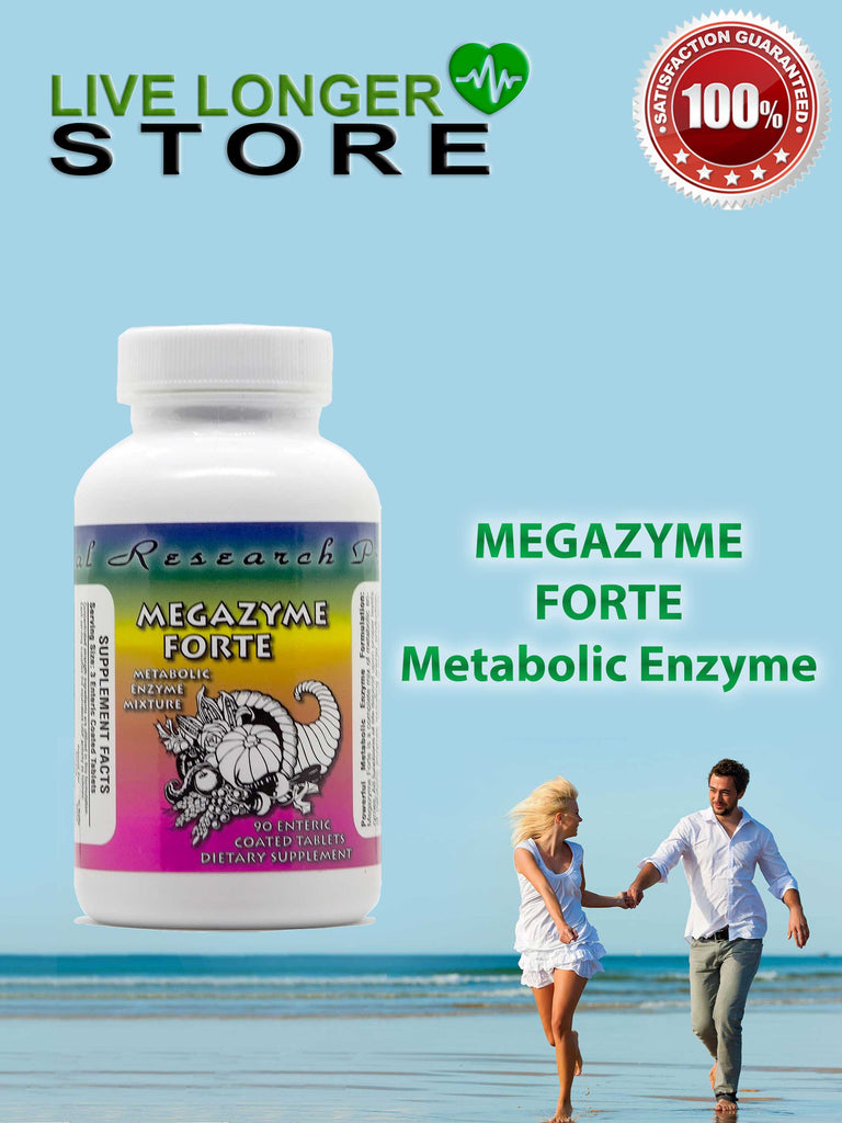 MEGAZYME FORTE - 90 enteric coated tablets