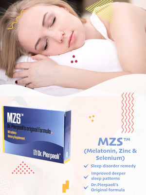 MZS™ (Melatonin, Zn, Se) - 60 tablets