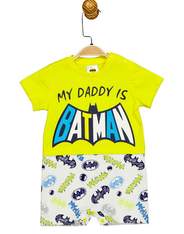 Batman Baby Boy Romper