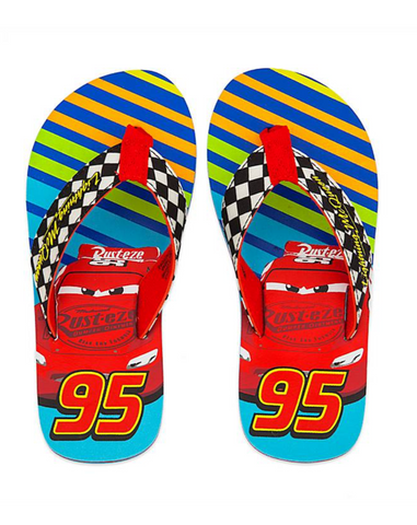 Lightening McQueen Flip Flops