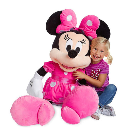 Minnie Mouse Pink Plush – Jumbo