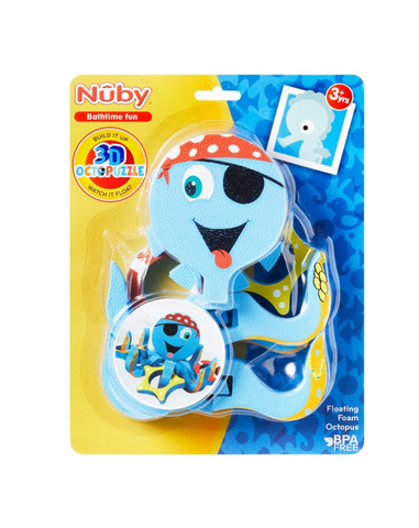 Nuby Floating Foam Octopus Bath Toy