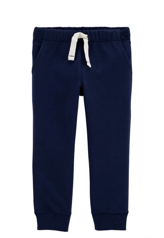 Mamino Pull-On Terry Pant - Navy