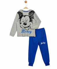 Mickey Mouse Boys Joggers & Top Set - Blue