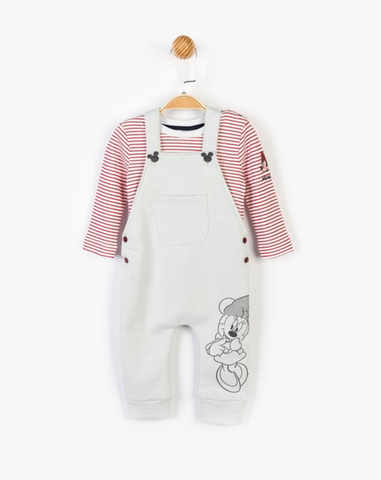Minnie Mouse Dungaree Set - 14606