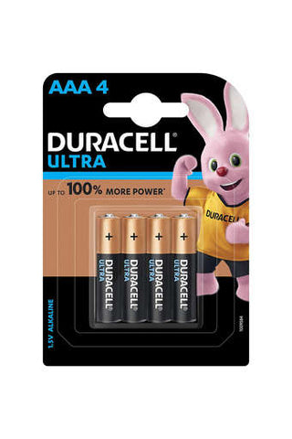 Duracell Alkaline AAA Batteries - Pack Of 4