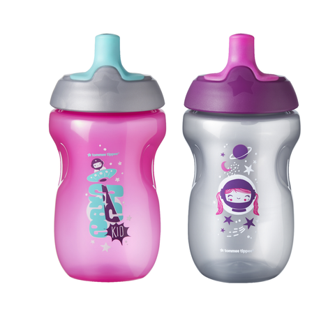 Tommee Tippee Sippy Toddler Sportee Cup, 12+ months
