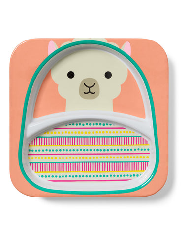 Zoo Little Kid Plate - Llama