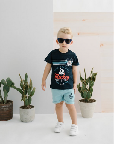Mickey Mouse T-Shirt for Boys - Navy 15457