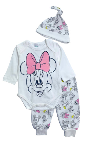 Minnie Mouse Baby Bow-Tastic Set