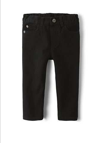 Boys Basic Skinny Jeans - Black