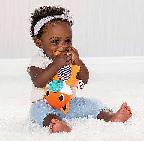 Infantino Cuddly Teether - Fox