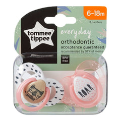 Tommee Tippee Closer to Nature Everyday Baby Soother 6-18 Months,