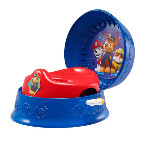 Nickelodeon Paw Patrol 3-in-1 Potty Training Toilet, Toddler Toilet Training Set