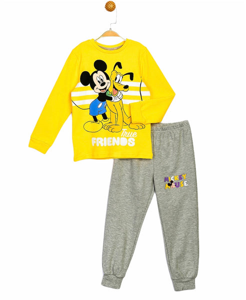 Mickey Mouse Boys Joggers & Top Set