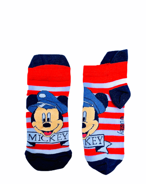 Mickey Socks - Red