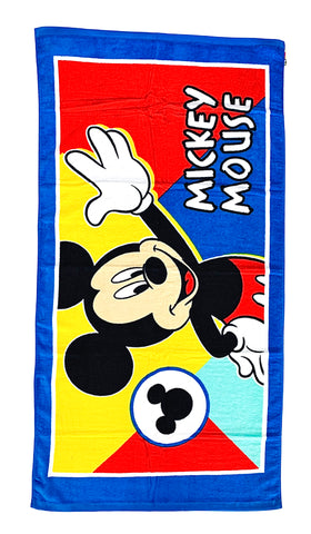 Mickey Mouse Terry Towel - Blue