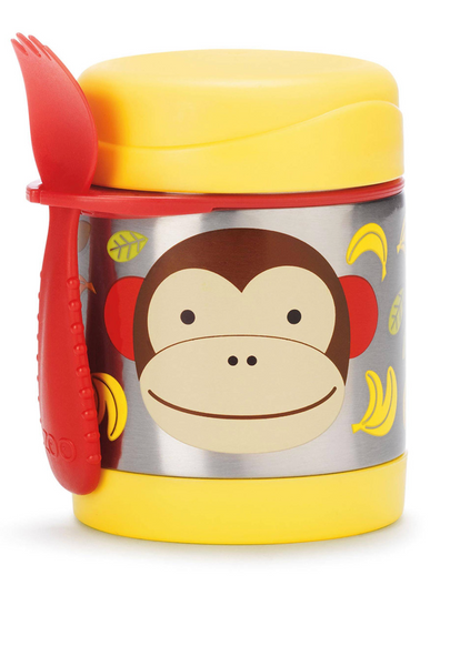 Zoo Skip Hop Insulated Food Jar - Monkey
