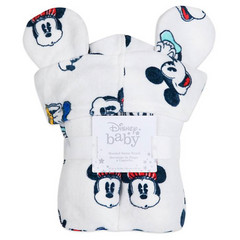 Mickey & Friends Hooded Towel