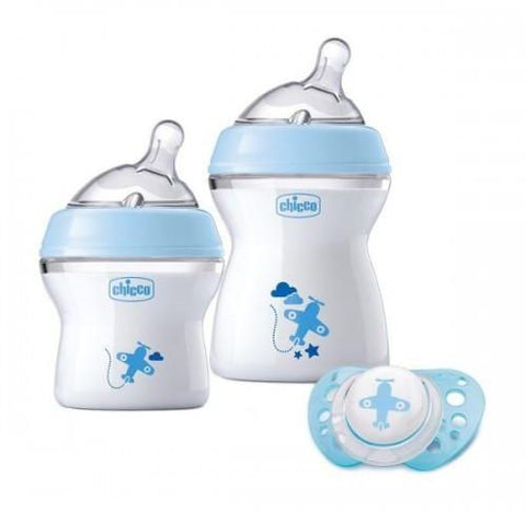 Chicco NaturalFeeling Gift Set with 2 Newborn Bottles