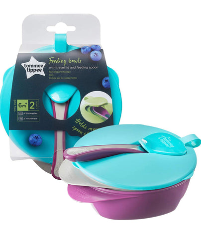 Tommee Tippee Explora Easy Scoop Feeding Bowl Lid and Spoon