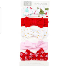 Hudson Baby Hairbands - 5 Packets
