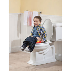 Disney Mickey Mouse Racer 3-in-1 Potty Training Toilet, Toddler Toilet Training Set & Step Stool