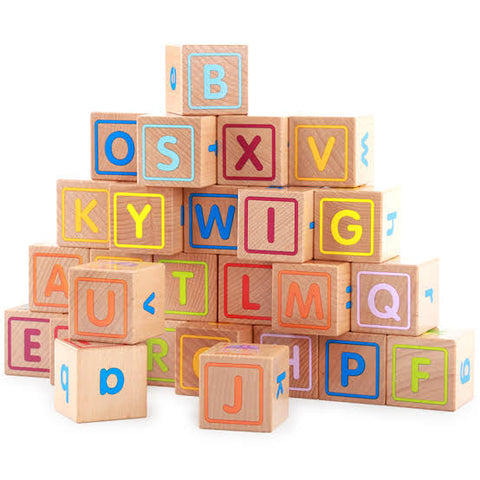 Wooden ABC Combination Building Block