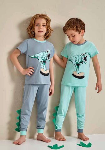 Dino Boys 4-Piece Jammies